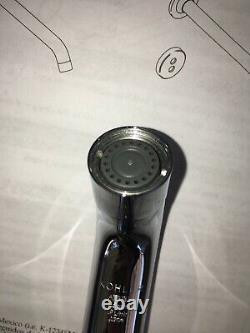 Robinet Wall-mount Kohler, Modèle K-t11837-cp, Chrome, Capteur Activé, Nouveau