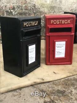 Royal Mail Boîte Aux Lettres En Fonte Boîte Aux Lettres Pilier Option Sur Le Stand / Wall Mount Er Gr
