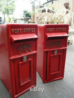 Royal Mail Boîte Postale Gr Rouge Cru De Boîte Rouge Gr Boîte Postale Fonte