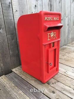 Royal Mail Post Box Er Boîte Postale Britannique Machan Ecosse & Cage Chubb Lock 2 Clés