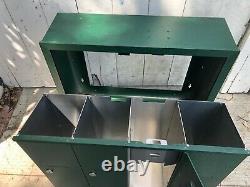 Salsbury 4b Vertical Boîte Aux Lettres 4 Portes Accès Usps Monté Sur La Surface