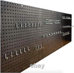 Séville Classics Garage Steel Peg Board 6ft, 1.83m Et Kit Commercial