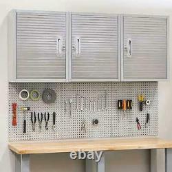 Séville Classics Ultrahd Garage Commercial Steel Locking Wall Cabinet Tool Box +