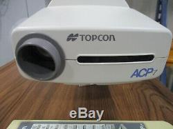 Topcon Acp-7r Graphique Auto Mur Commercial Projecteur Vision Examen Mont Optométrie