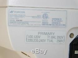 Topcon Acp 8 Auto Wall Chart Commercial Projecteur Vision Examen Mont Optométrie