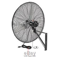 Tpi Cacu30-wo 30 Mur Fan Oscillant Commercial Mont 8700/7500/6780 Cfm 120v