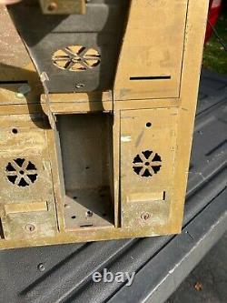 United Metal Box Co Us Mailbox Apartment Building 4 Bouton Cloche De Porte De Quatre Unités