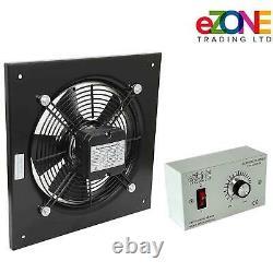Ventilateur D'extraction Mural Industriel 16 Ventilation Commerciale +speed Control