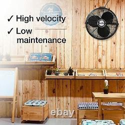 Ventilateur De Plafond De Qualité Commerciale 18 3-speed Air Circulator Garage 3190 Cfm