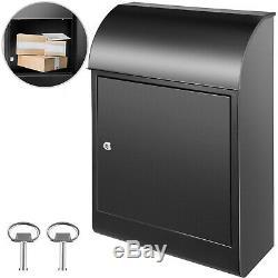 Vevor De Verrouillage En Acier Extra Large Drop Box Mural Boîte Aux Lettres Pour Home Office